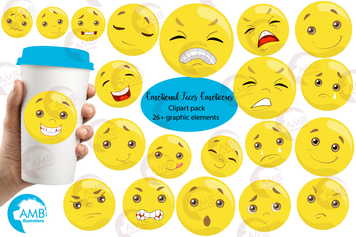 Clipart feelings graphic free library Emoticons clipart graphic free library