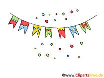 Clipart feiern kostenlos clip library Party Bilder, Cliparts, Cartoons, Grafiken, Illustrationen, Gifs ... clip library