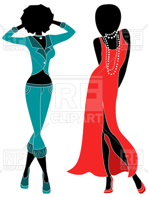 Clipart female models clipart transparent library Female Model Silhouette at GetDrawings.com | Free for personal use ... clipart transparent library