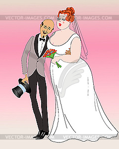 Clipart fiance svg free library Fiancee and fiance - vector clipart svg free library