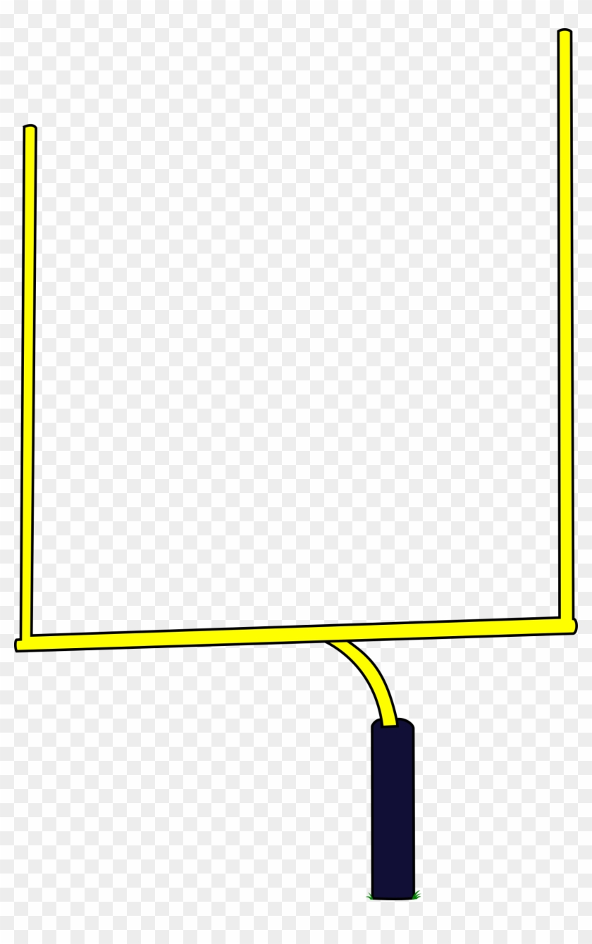 Clipart field goal jpg freeuse library 28 Collection Of American Football Goal Clipart - Field Goal Post ... jpg freeuse library
