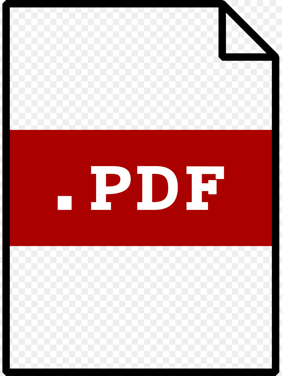 Clipart file format pdf image freeuse stock Portable Document Format Clip art - Pdf Cliparts png download - 891 ... image freeuse stock