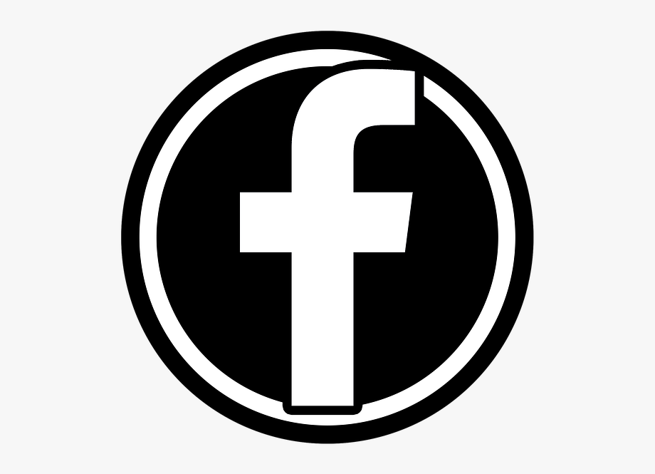 Clipart file logo svg transparent library Black Facebook Logo Vector Clipart Best - Facebook Icon Png File ... svg transparent library