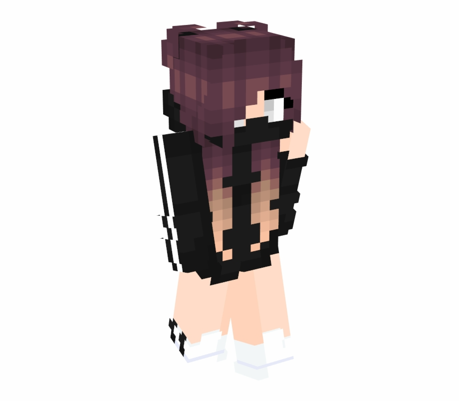 Clipart file minecraft skin clip black and white library Trending Minecraft Skins Namemc - Minecraft Skins Girl With Short ... clip black and white library