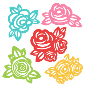 Clipart files for cricut png Flowers SVG scrapbook cut file cute clipart files for silhouette ... png