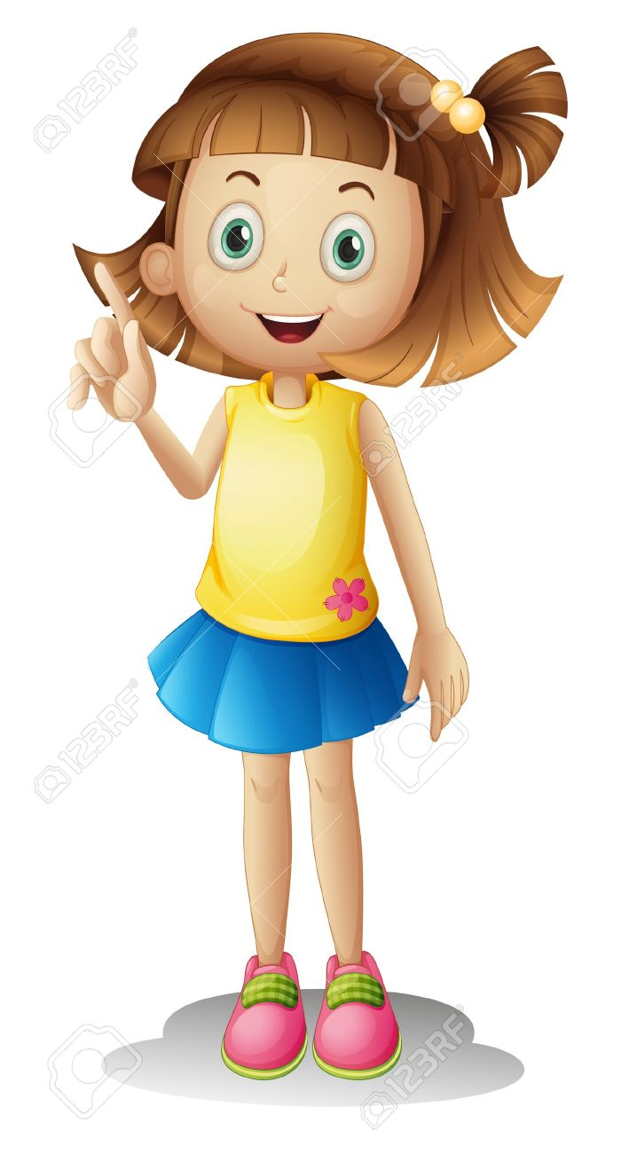 Clipart fille image free library Clipart fille 1 » Clipart Station image free library