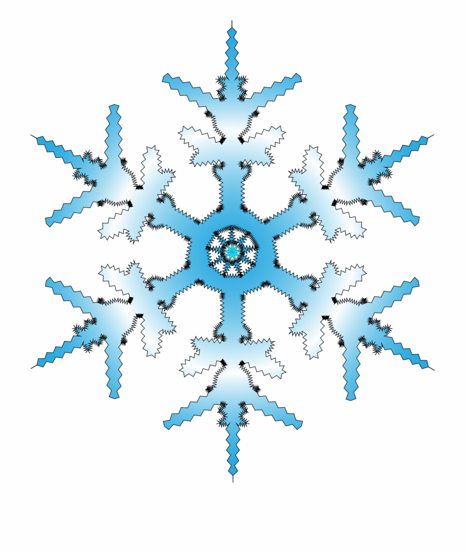 Clipart fiocco di neve png free Blue Winter Snowflake Png - Fiocco Di Neve Blu Png Free PNG Images ... png free