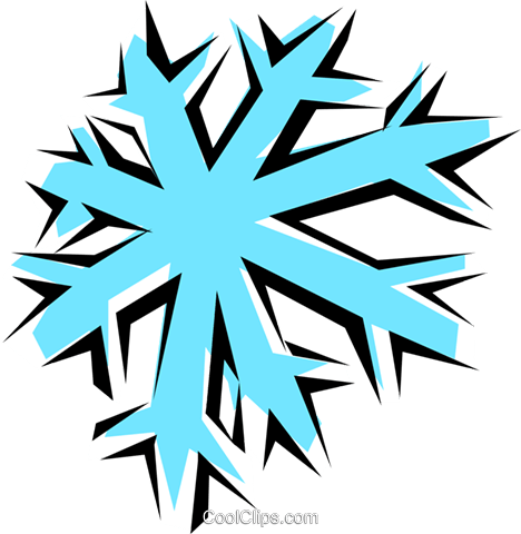 Clipart fiocco di neve graphic transparent stock Fiocco di neve immagini grafiche vettoriali clipart -natu0160 ... graphic transparent stock