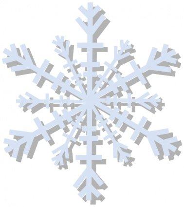 Clipart fiocco di neve svg freeuse library Clip art e grafiche vettoriali gratuite di Fiocco di neve - Clipart.me svg freeuse library