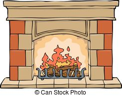 Clipart fire place svg black and white download Fireplace Stock Illustrations. 18,582 Fireplace clip art images and ... svg black and white download