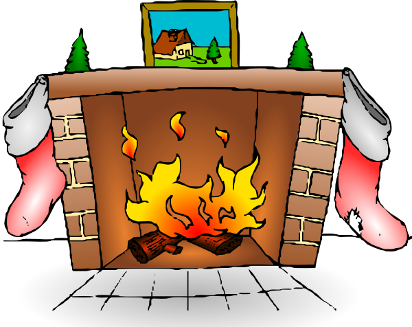 Clipart fire place vector library Fire Place Clip Art Fireplace% | Clipart Panda - Free Clipart Images vector library