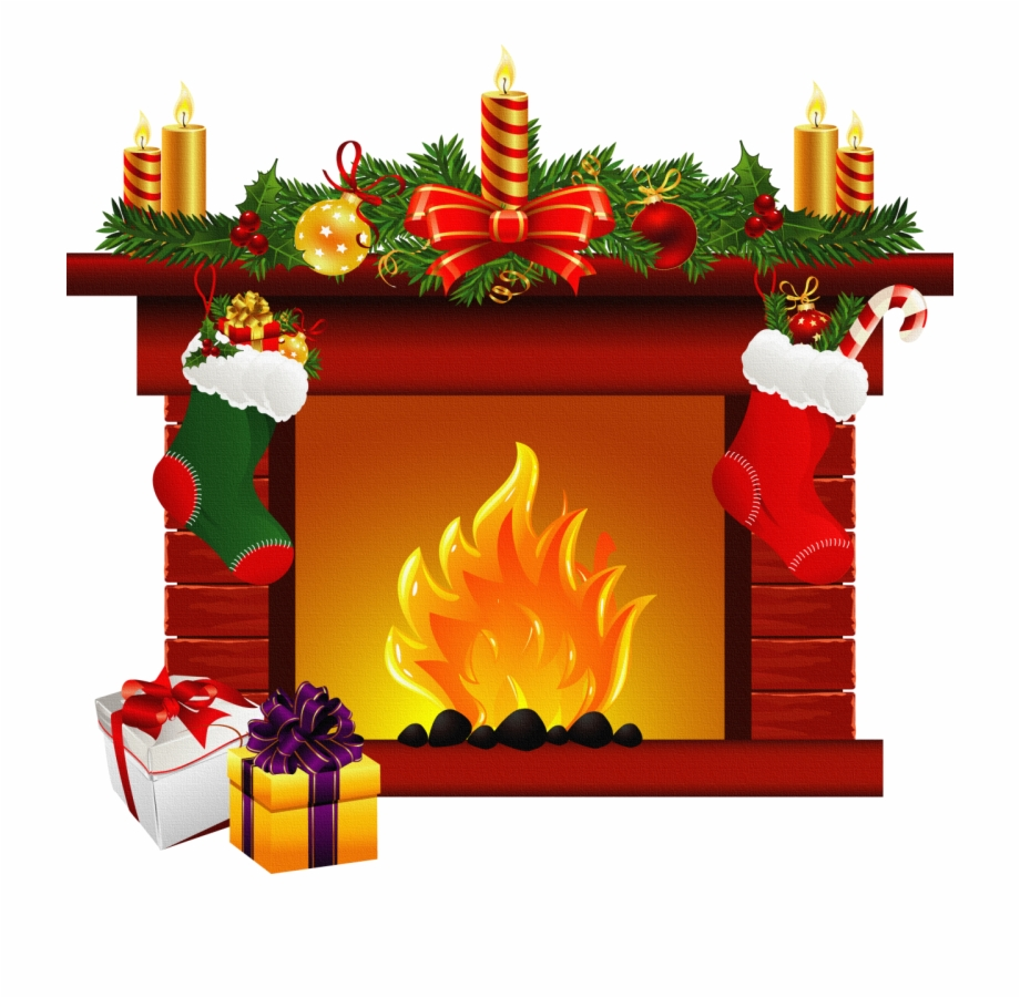 Clipart fire place clipart freeuse download Fireplace Clipart - Christmas Fire Place Clip Art Free PNG Images ... clipart freeuse download