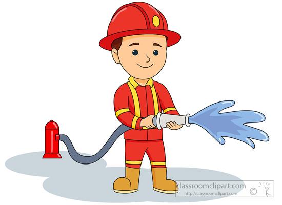 Clipart firman banner freeuse Fireman firefighter clip art on firefighters and firemen ... banner freeuse