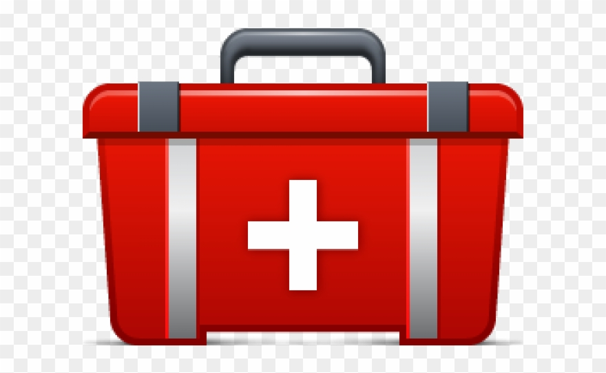 Closed black medical bag with red cross clipart graphic library download Emergency Clipart First Aid - First Aid Kit Clipart Png Transparent ... graphic library download