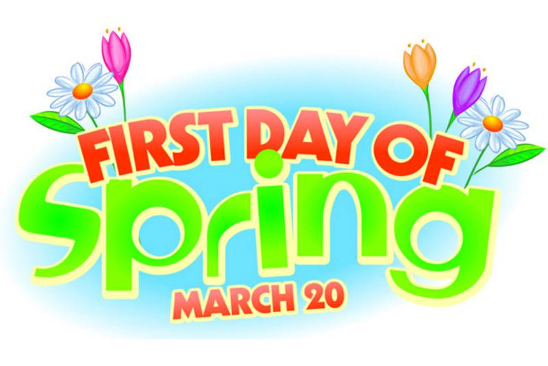 Clipart first day of spring svg black and white download P.E.I. weather, travel updates – First day of spring   Local   News ... svg black and white download