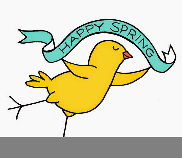 Clipart first day of spring svg royalty free stock Happy First Day Of Spring Clipart   Free Images at Clker.com ... svg royalty free stock