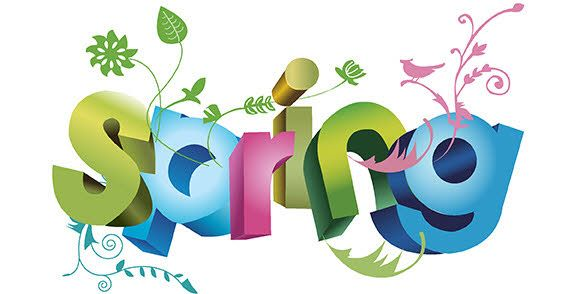 Clipart first day of spring banner black and white stock Spring clip art day - 15 clip arts for free download on EEN banner black and white stock