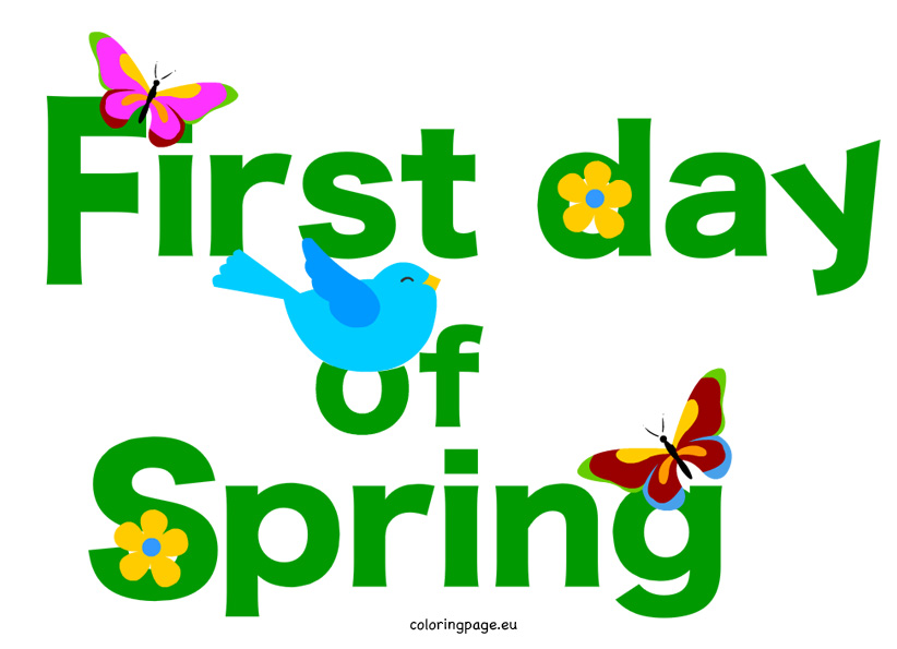 Free clipart first day of winter clip free library 34+ First Day Of Spring Clipart | ClipartLook clip free library