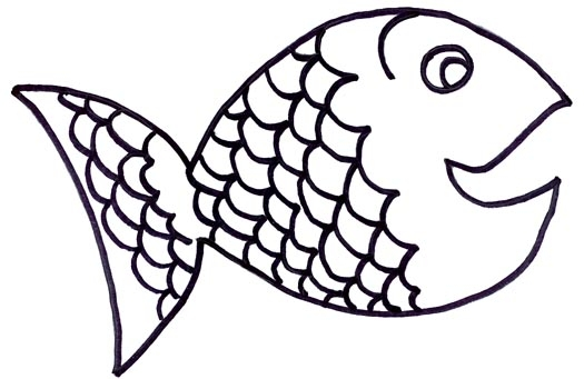 Clipart fish black and white flannel 5 little fishies vector freeuse download Black And White Fish Clipart | Free download best Black And White ... vector freeuse download