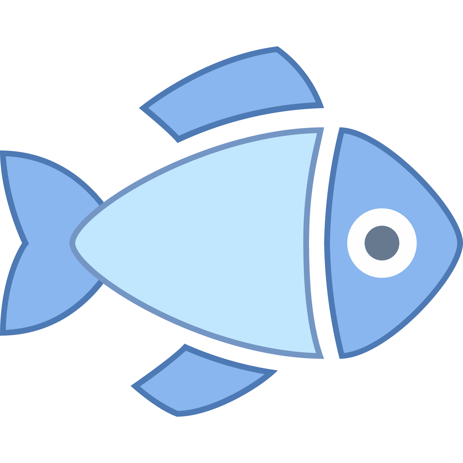 Free download clipart fish banner transparent library Dressed Fish Icon - free download, PNG and vector banner transparent library