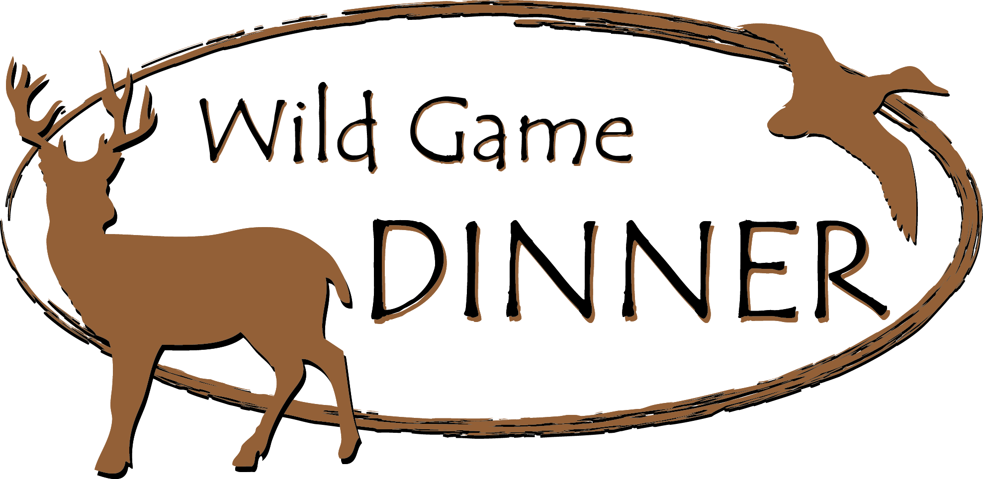 Fish supper clipart. Wild game potluck dinner