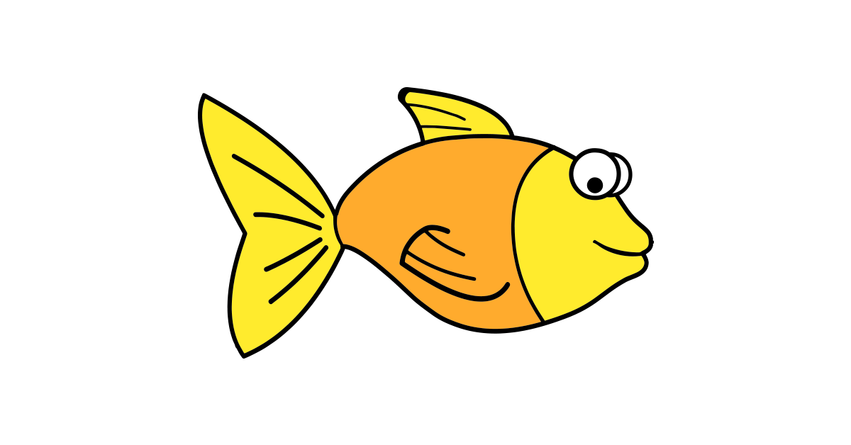 Yellow fish background clipart png transparent download Fish Clipart Vector and PNG – Free Download | The Graphic Cave png transparent download