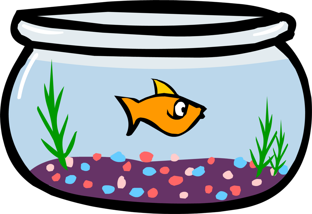 Clipart fish in bowl svg download Fish Bowl Image - Cliparts.co svg download