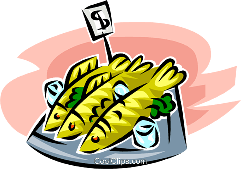 Clipart fish market graphic free library fish market Royalty Free Vector Clip Art illustration -vc063409 ... graphic free library