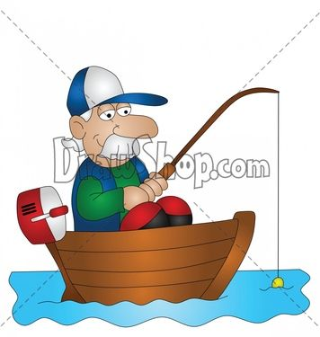 Clipart fisherman and his wife cast