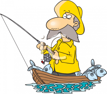 Clipart fisherman and his wife cast vector stock Pictures Of A Fisherman Group with 65+ items vector stock