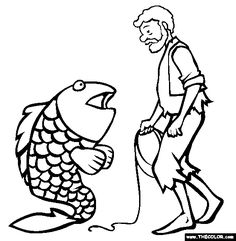 Clipart fisherman and his wife cast black and white 9 Best Fairy Tales images in 2015   Fairy tales, Fairy, Fairy tales unit black and white