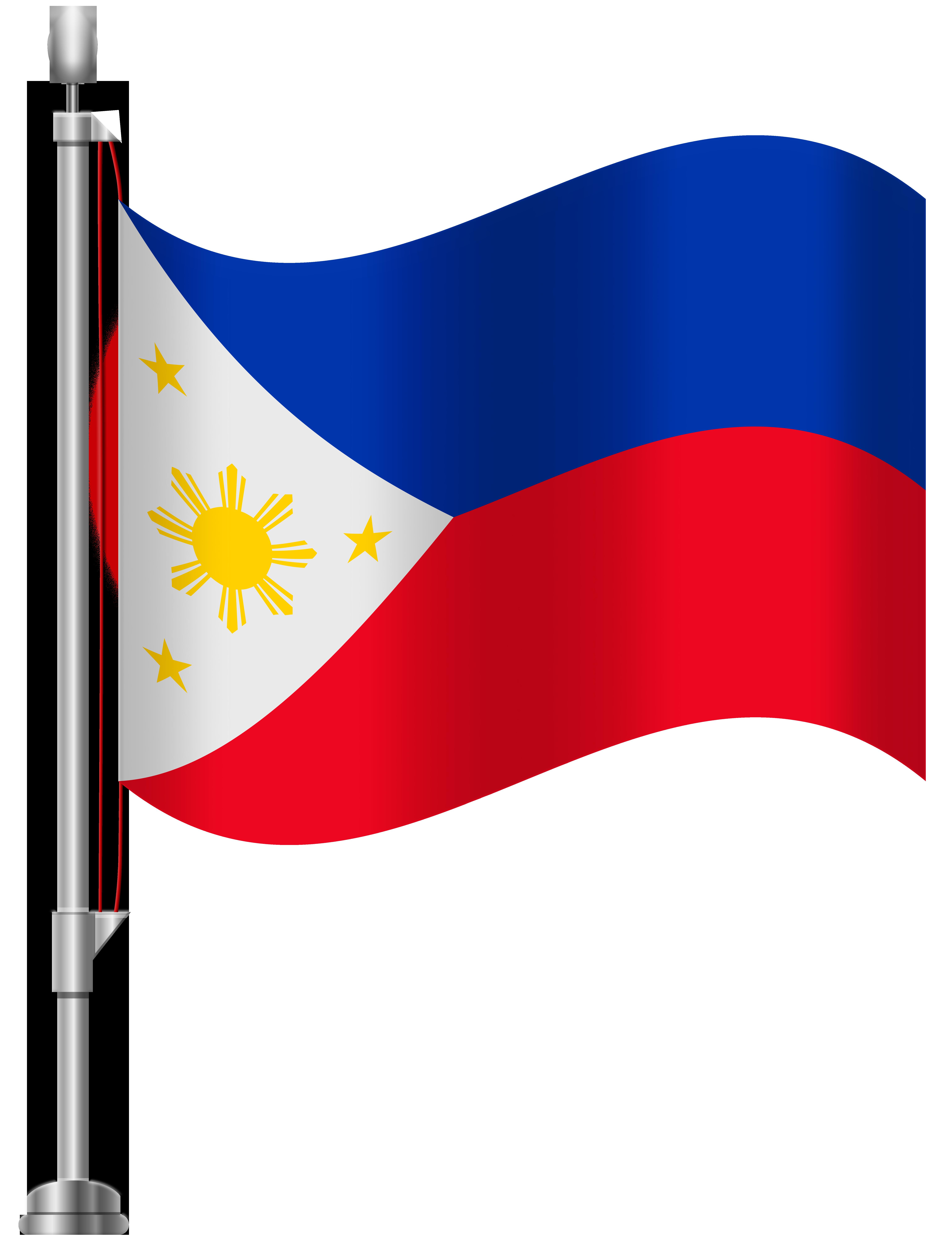 Filipino flag clipart