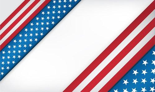 Clipart flag background clip art freeuse USA Flag Background Design premium clipart - ClipartLogo.com clip art freeuse