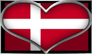 Clipart flag danmark