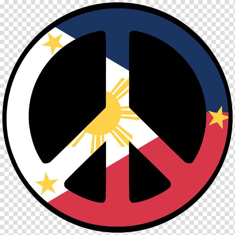 Clipart flag symbols jpg freeuse Flag of the Philippines Peace symbols, peace symbol transparent ... jpg freeuse