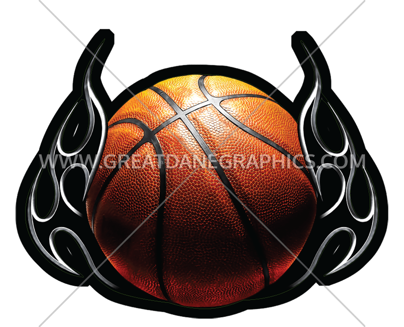 Clipart flames basketball download Basketball Tribal Flames | Production Ready Artwork for T-Shirt Printing download