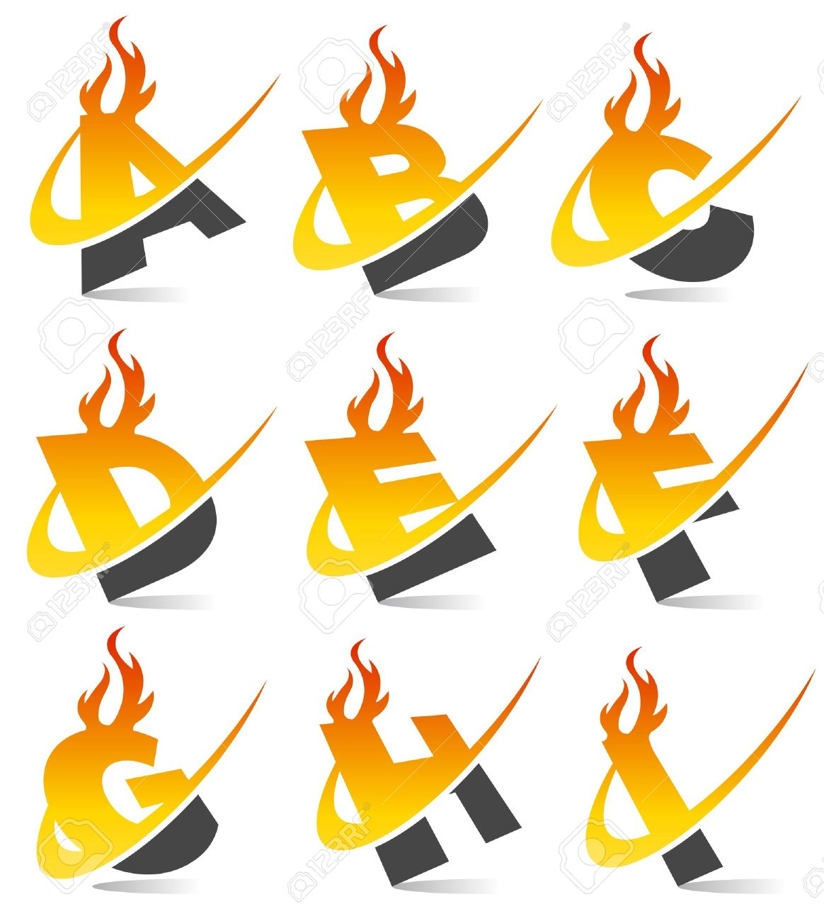 Clipart flaming letters clipart transparent library Flame Font Images & Stock Pictures. Royalty Free Flame Font Photos ... clipart transparent library