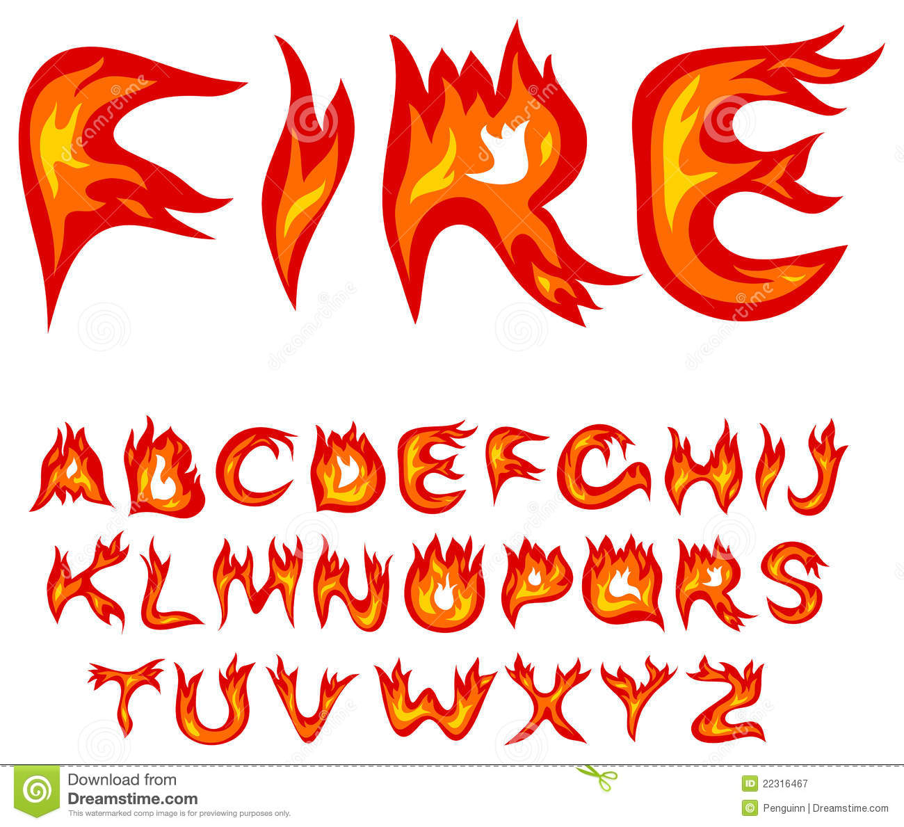 Clipart flaming letters vector royalty free stock Flaming Letters Clipart - Clipart Kid vector royalty free stock