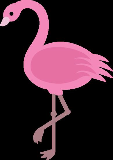 Clipart flamingo image black and white download Elegant Pink Flamingo Clip Art | binatang | Flamingo clip art ... image black and white download