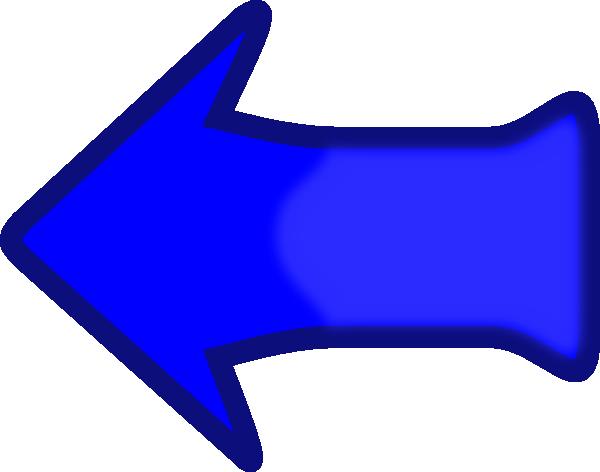 Clipart flashing arrow vector royalty free Arrow Set Smooth Left Blubbly Clip Art at Clker.com - vector clip ... vector royalty free