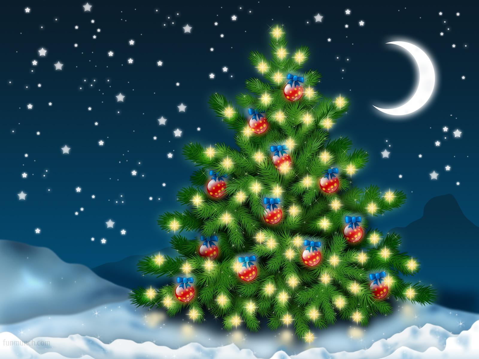 Clipart flashing christmas tree picture black and white Clipart flashing christmas tree - ClipartFest picture black and white