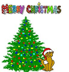Clipart flashing christmas tree jpg stock Blinking Christmas Tree Clipart - Clipart Kid | Page borders ... jpg stock