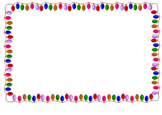 Clipart flashing christmas tree picture black and white download Blinking Christmas Tree Clipart - Clipart Kid | Page borders ... picture black and white download