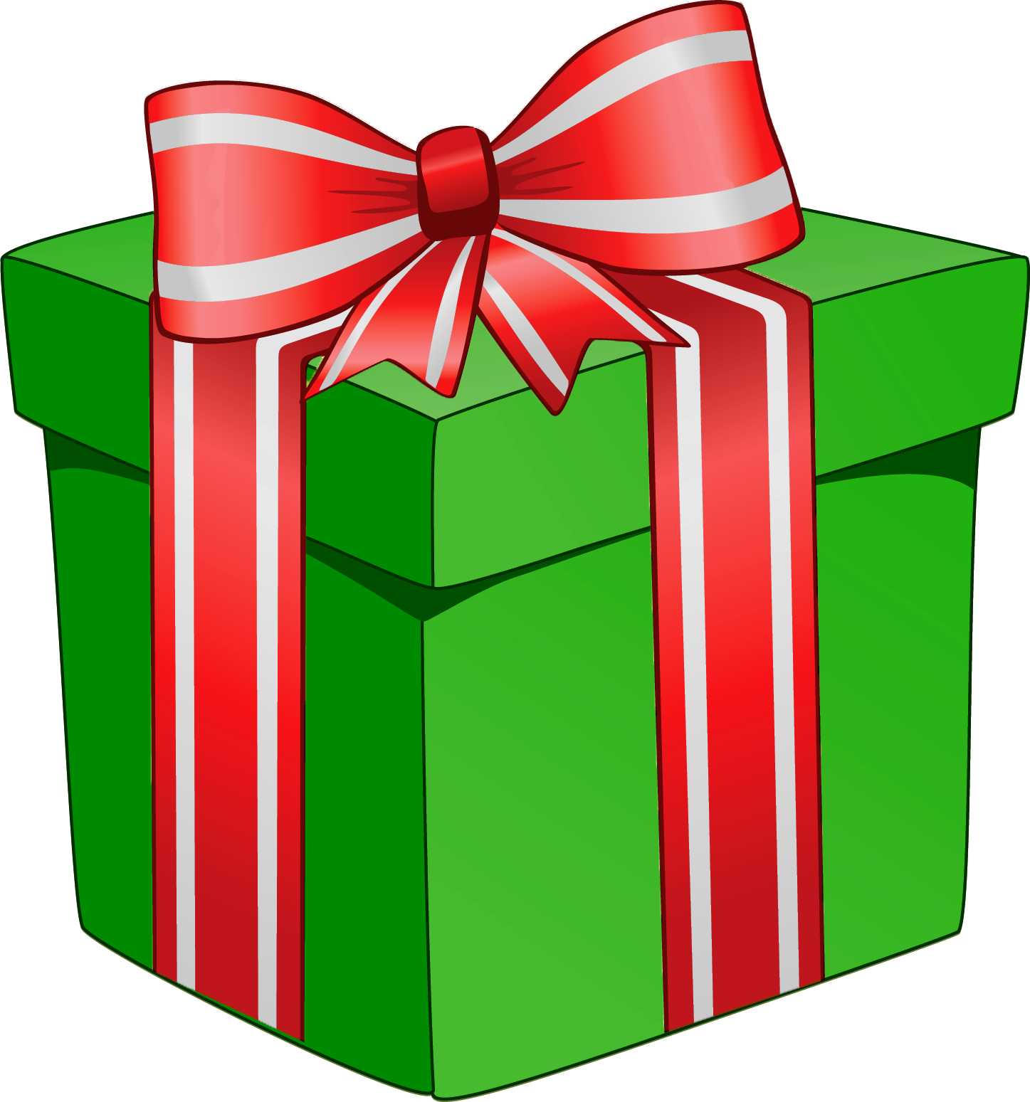 Christmas packages clipart