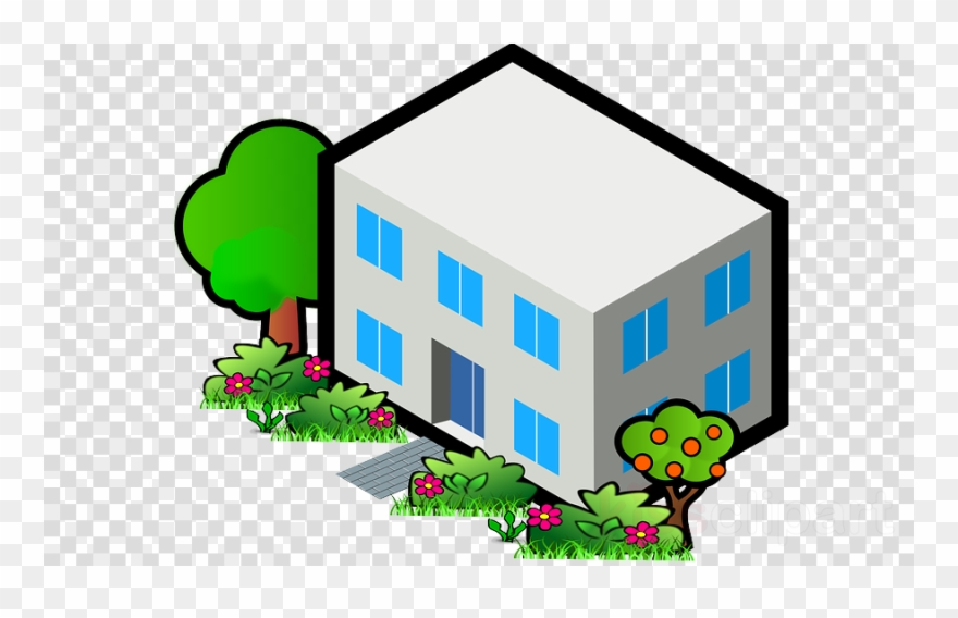 Clipart flat svg library Upgrade House Clipart House Clip Art - Flat Roof Clip Art - Png ... svg library