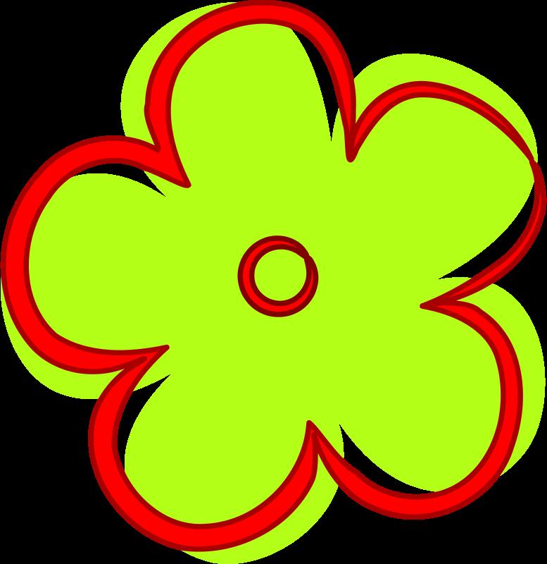 Clipart fleur clipart black and white Free Clipart: Fleur | mathafix clipart black and white