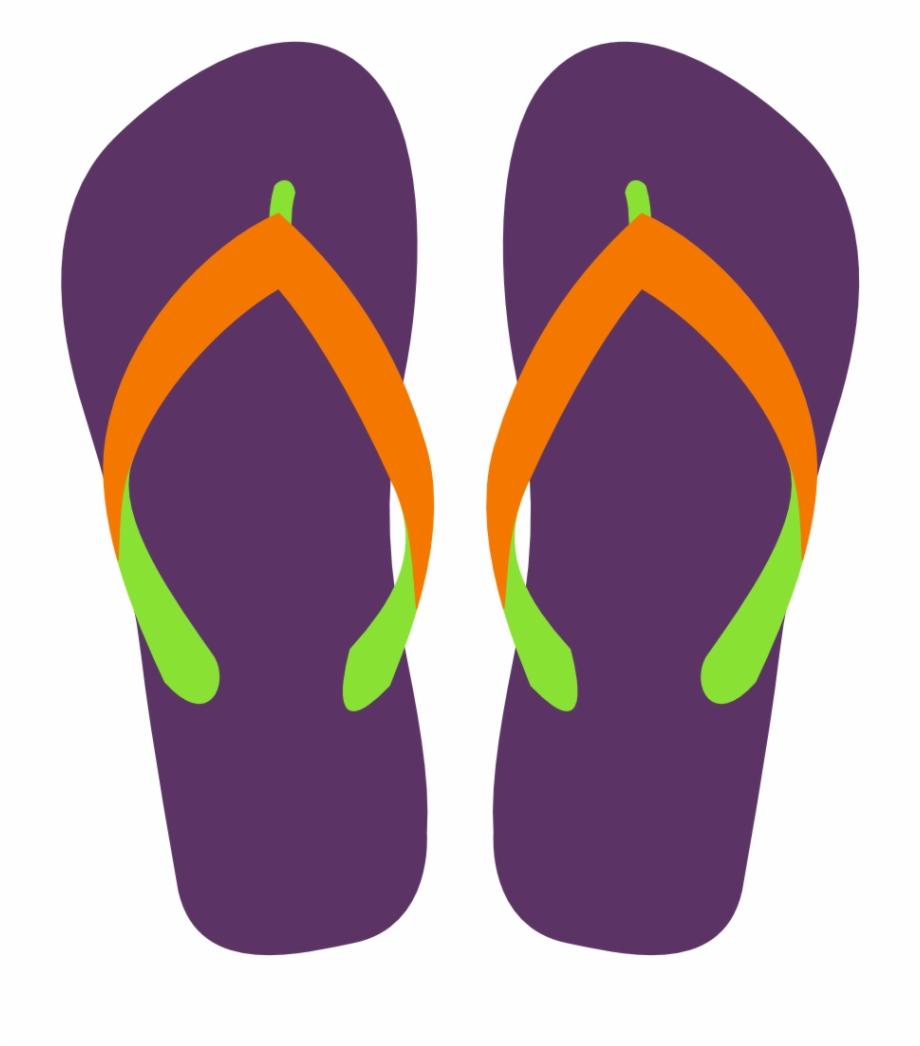 Clipart flip flop graphic free Flip Flops Clipart Svg - Transparent Background Flip Flop Clipart ... graphic free