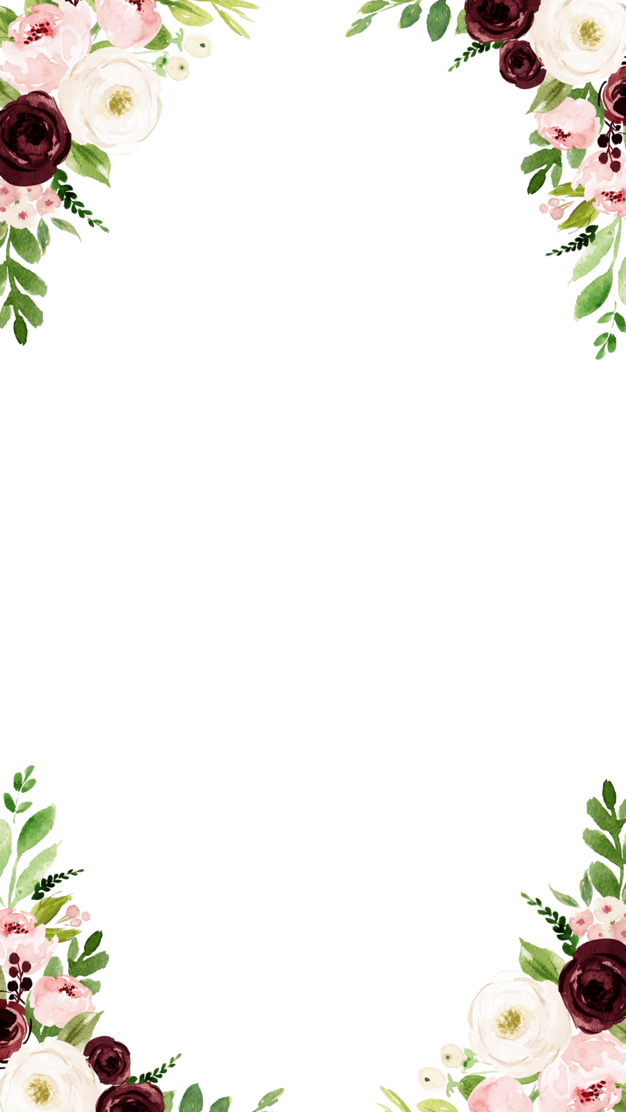 Library of floral border freeuse stock png files Clipart ...