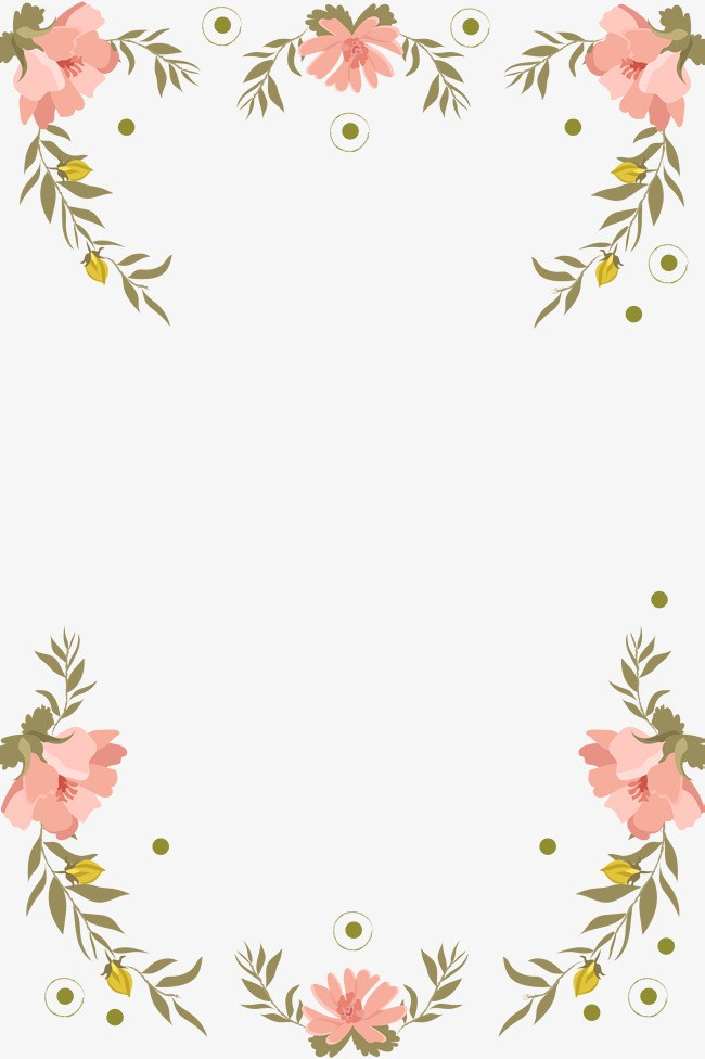Clipart floral border banner freeuse Clipart floral border » Clipart Portal banner freeuse