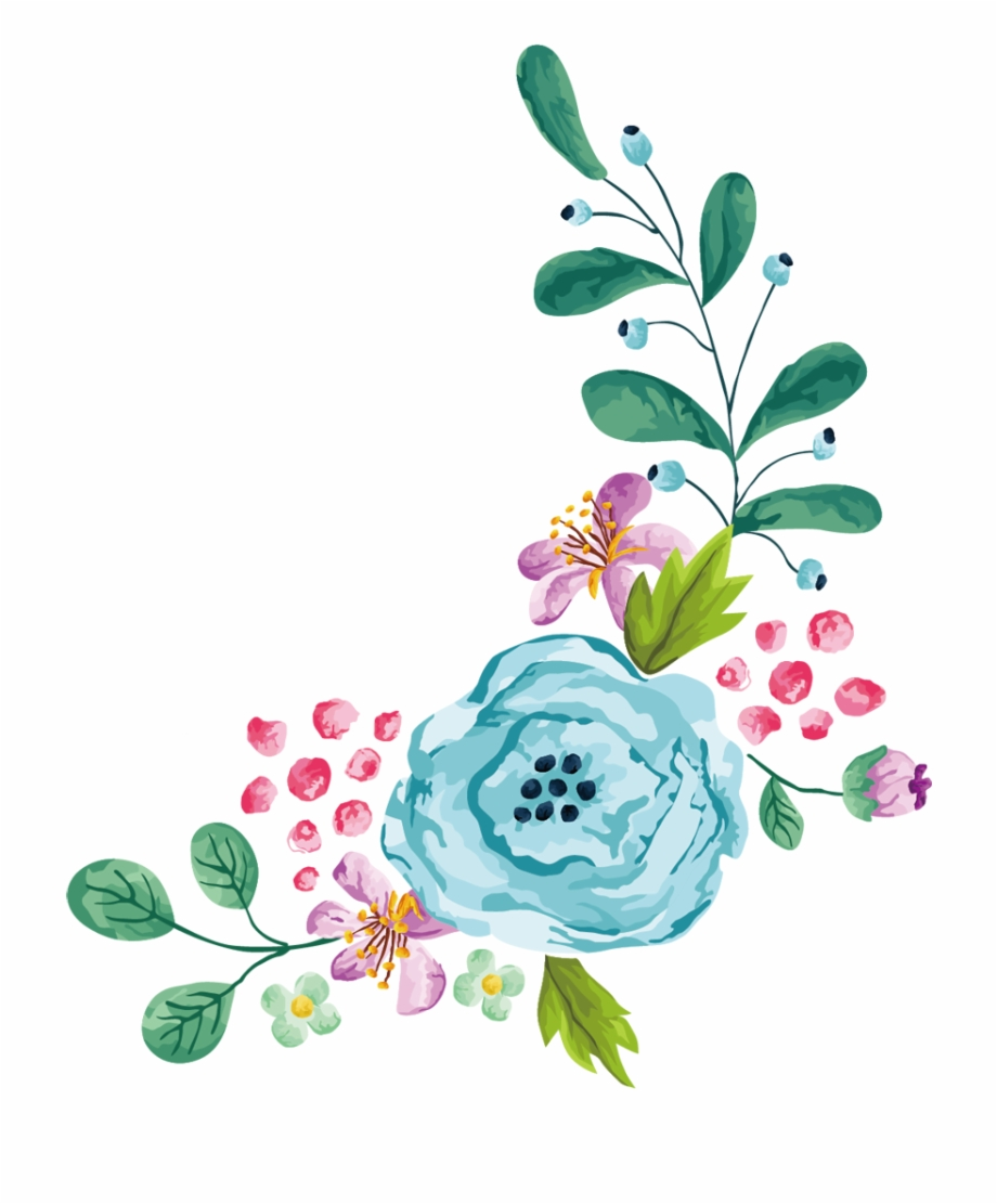 Library of clipart transparent library floral border png